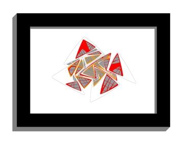 11A lines 3 framed black