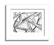 11B lines 2 framed white A