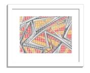 11B tiles 1 framed white A