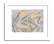 11B tiles 2 framed white A